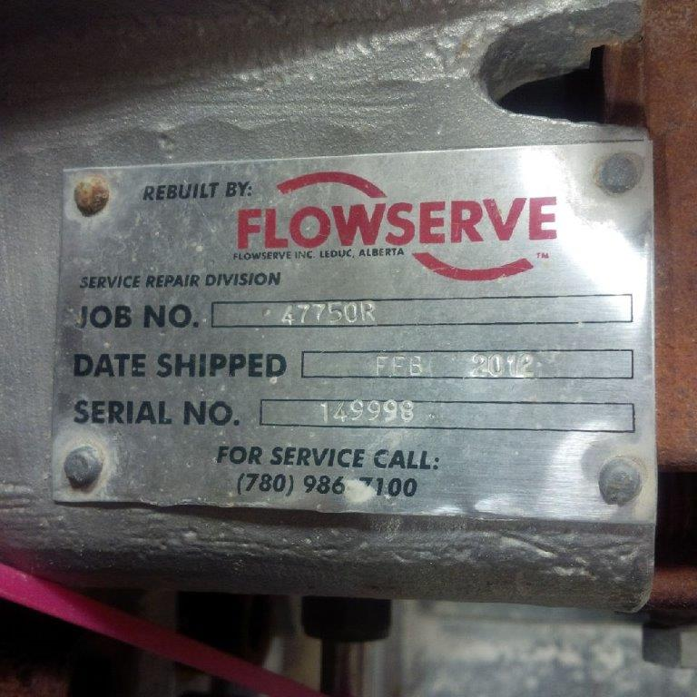 Flowserve CS 4X10 Water Pump - Click to Enlarge