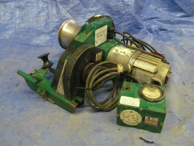 Greenlee Equipment Winch