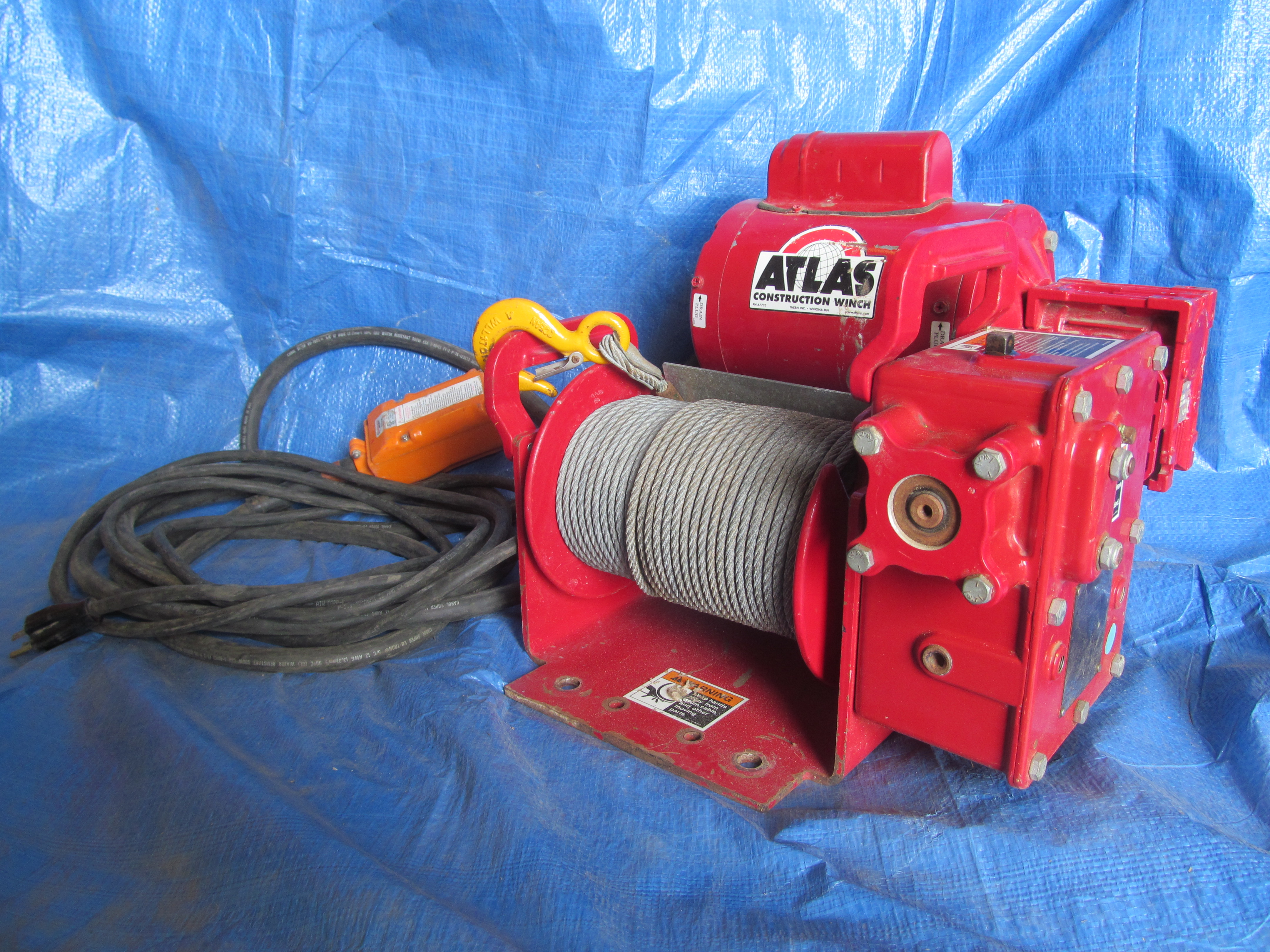 Wormgear Winch