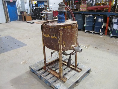 Grout Mixing Tank Item #18