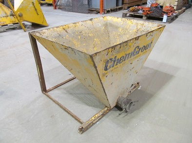 ChemGrout Holding Hopper Item #3
