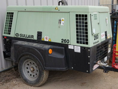 Sullair Air Compressor 260CFM