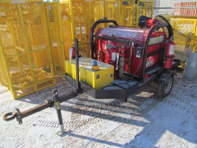Fuel Tank with Trailer