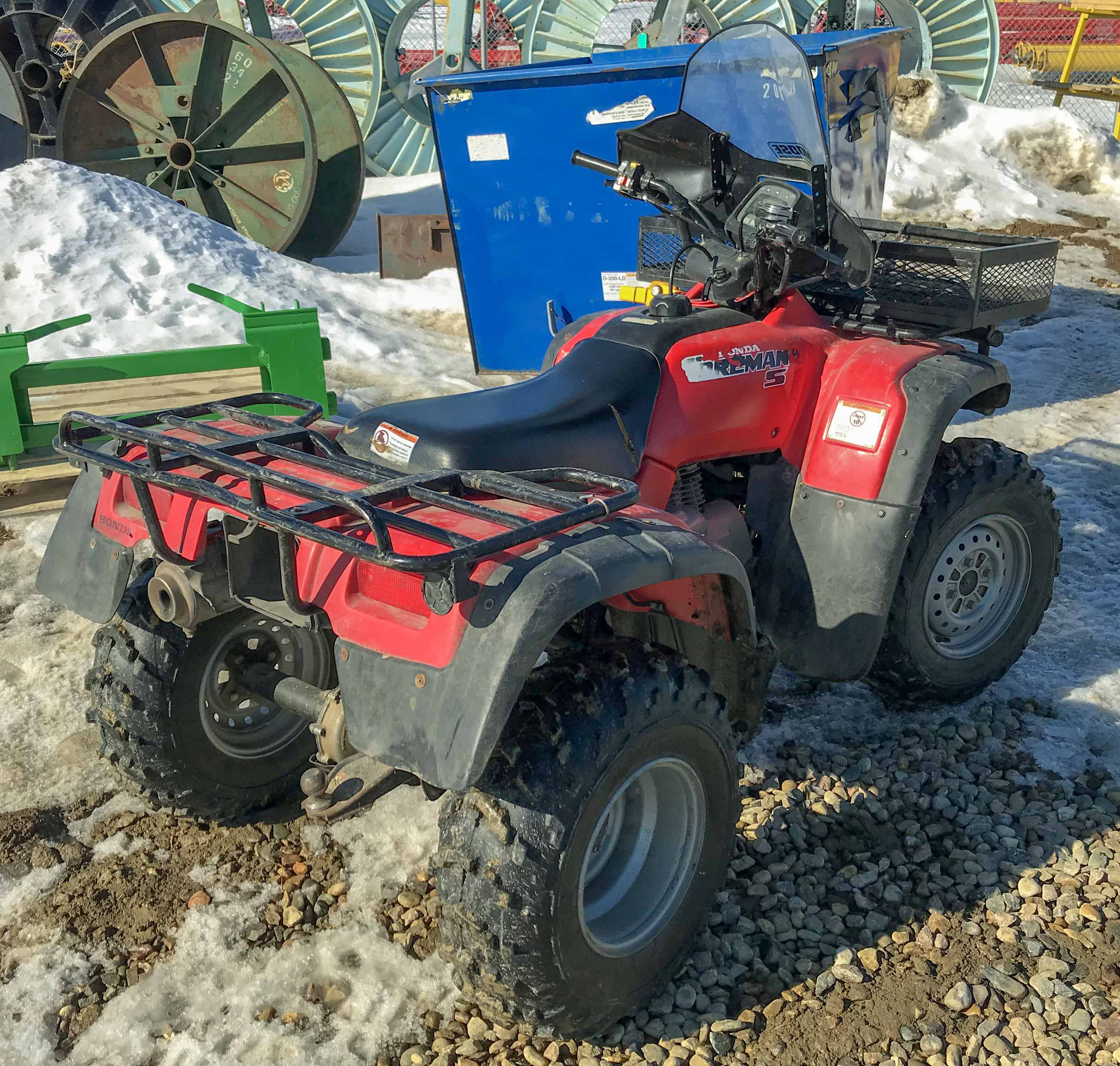 Honda Foreman S ATV - Red