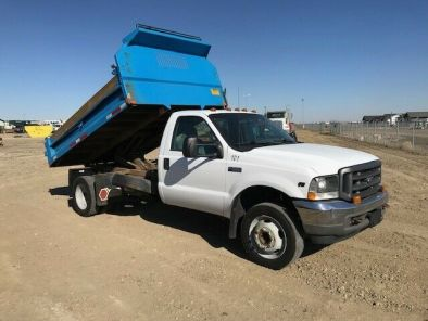 2003 F550 With 10FT Dump Box